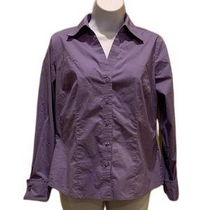 Worthington Petite stretch button down shirt